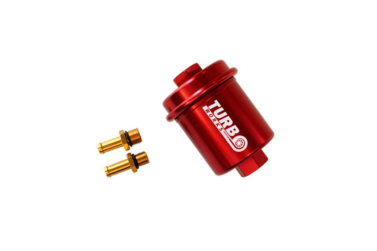 Filtr Paliwa 500 lph Red - GRUBYGARAGE - Sklep Tuningowy